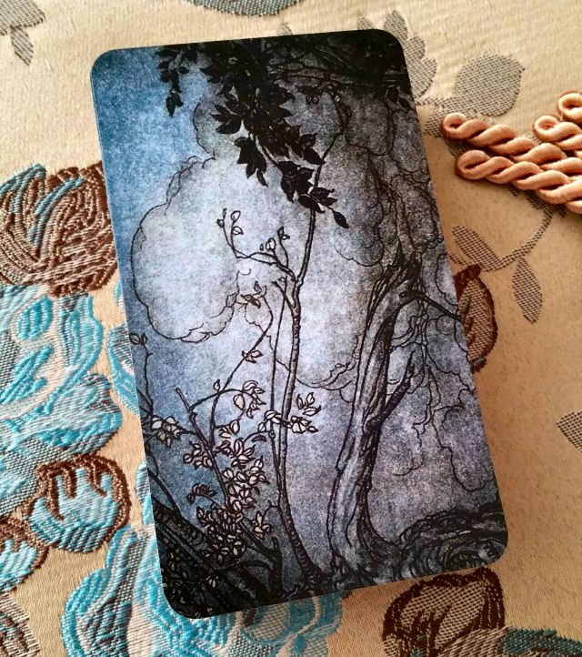 Arthur Rackham Oracle 02 Card Backs