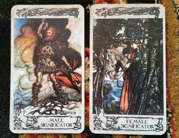 Arthur Rackham Oracle 12 Significators