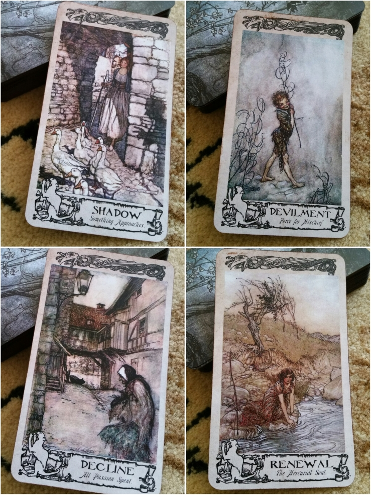Arthur Rackham Oracle 16 Draws