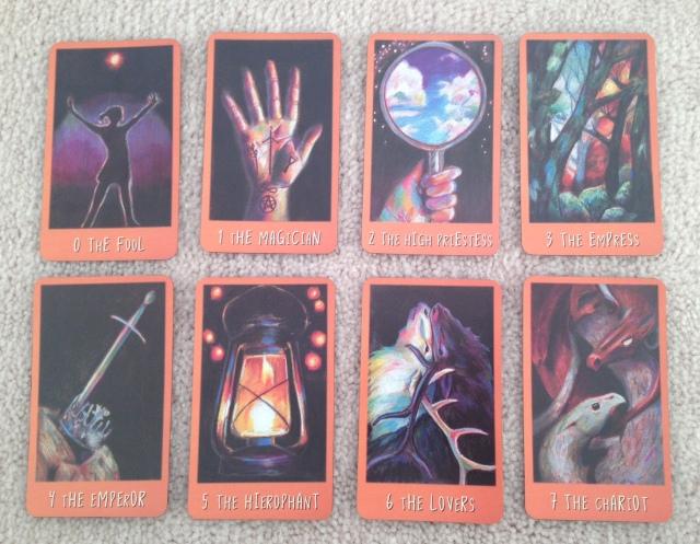 Ravens Prophecy Tarot - Majors 1