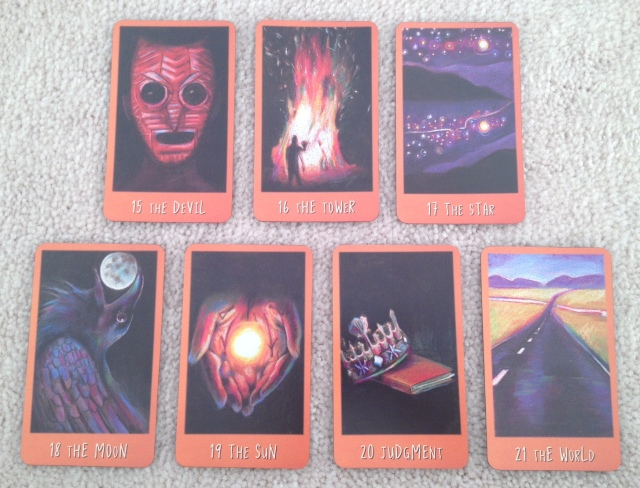 Ravens Prophecy Tarot - Majors 3