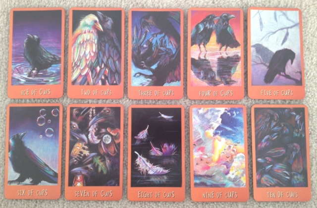 Ravens Prophecy Tarot - Minors 2 Cups