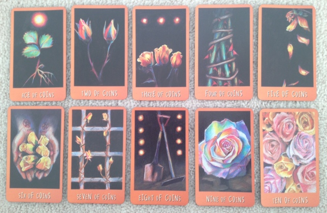 Ravens Prophecy Tarot - Minors 4 Coins