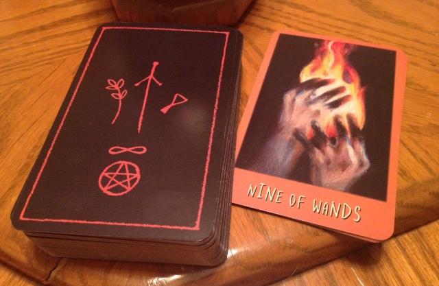 Ravens Prophecy Tarot - Warped Card