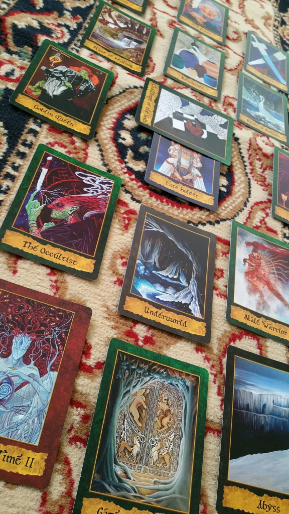 The Mystical Map Spread, as taught in the guidebook.