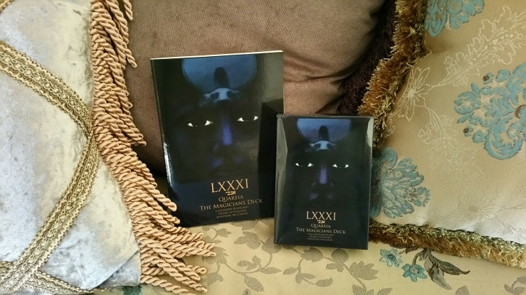 LXXXI Quareia Deck 01 Book and Cards