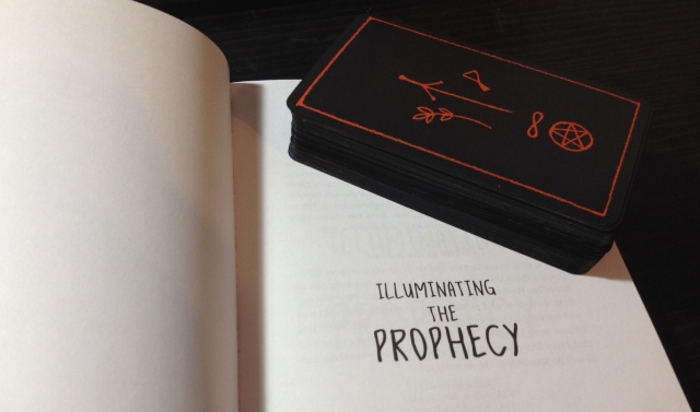 Ravens Prophecy Tarot - Book and Cards