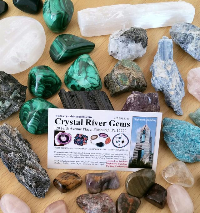 Crystal River Gems - Card and Assortment I