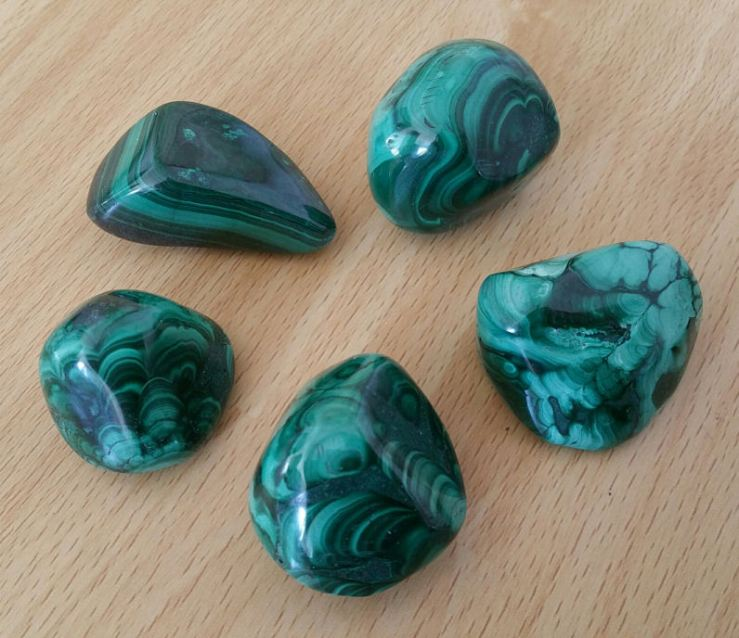 Malachite from Crystal River Gems