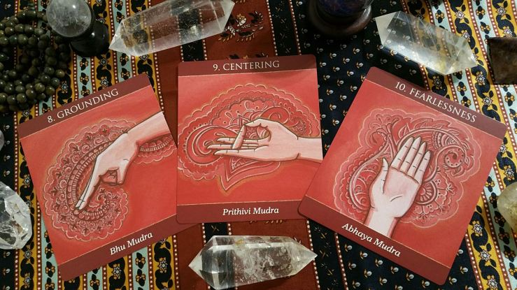 Mudras 10 Root Chakra Cards