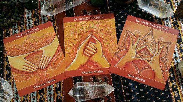Mudras 12 Sacral Chakra Cards