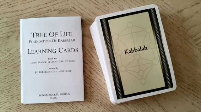 Tree of Life Kabbalah Learning Cards 02 Deck and LWB