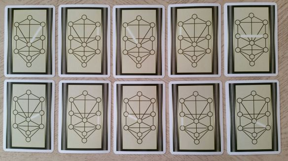 Living Magick Learning Cards Series: Tree of Life Kabbalah