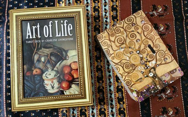 Art of Life Tarot 02 Box and Card Back