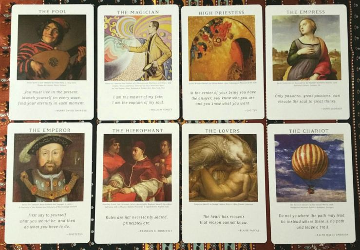 Art of Life Tarot 04 Majors I