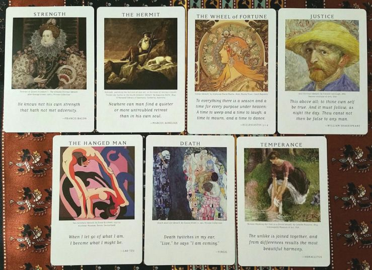 Art of Life Tarot 05 Majors II