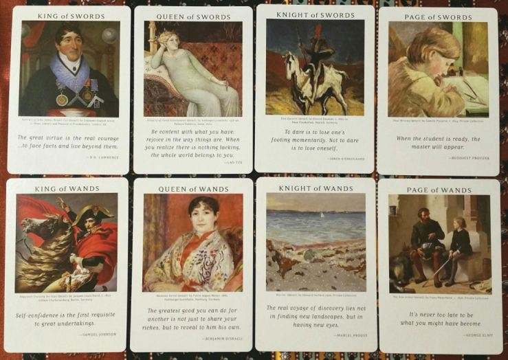 Art of Life Tarot 08 Courts Active