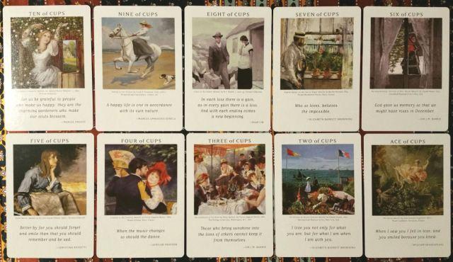 Art of Life Tarot 11 Minors Cups