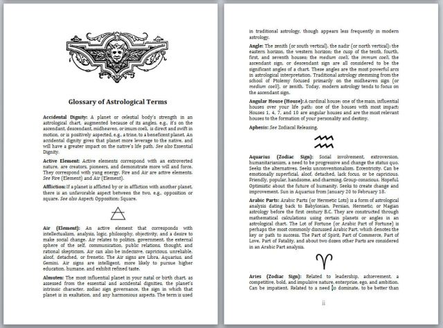 SAMPLE Monograph Glossary 1