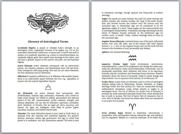 SAMPLE Monograph Glossary 1