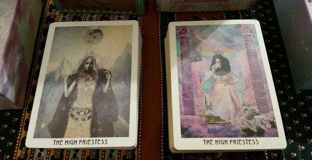 Starchild Akashic 07 High Priestess Card