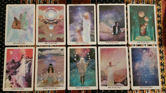 Starchild Akashic 12 Suit of Crystals