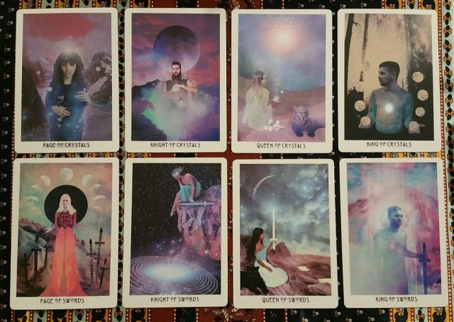 Starchild Akashic 14 Crystals and Swords Courts