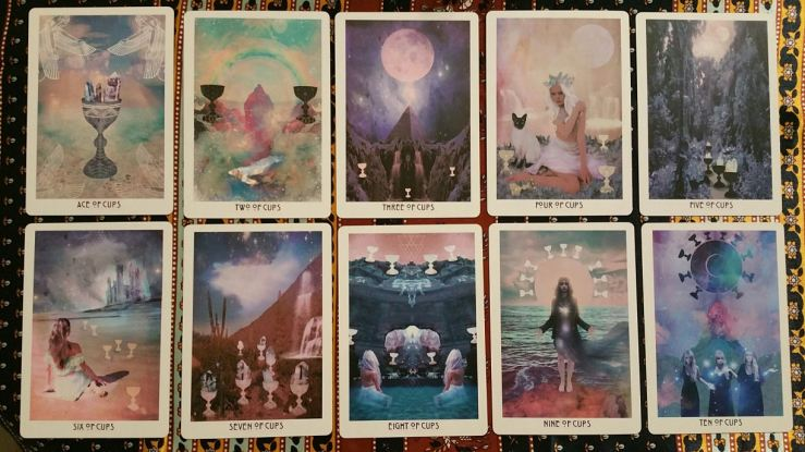 Starchild Akashic 16 Suit of Cups