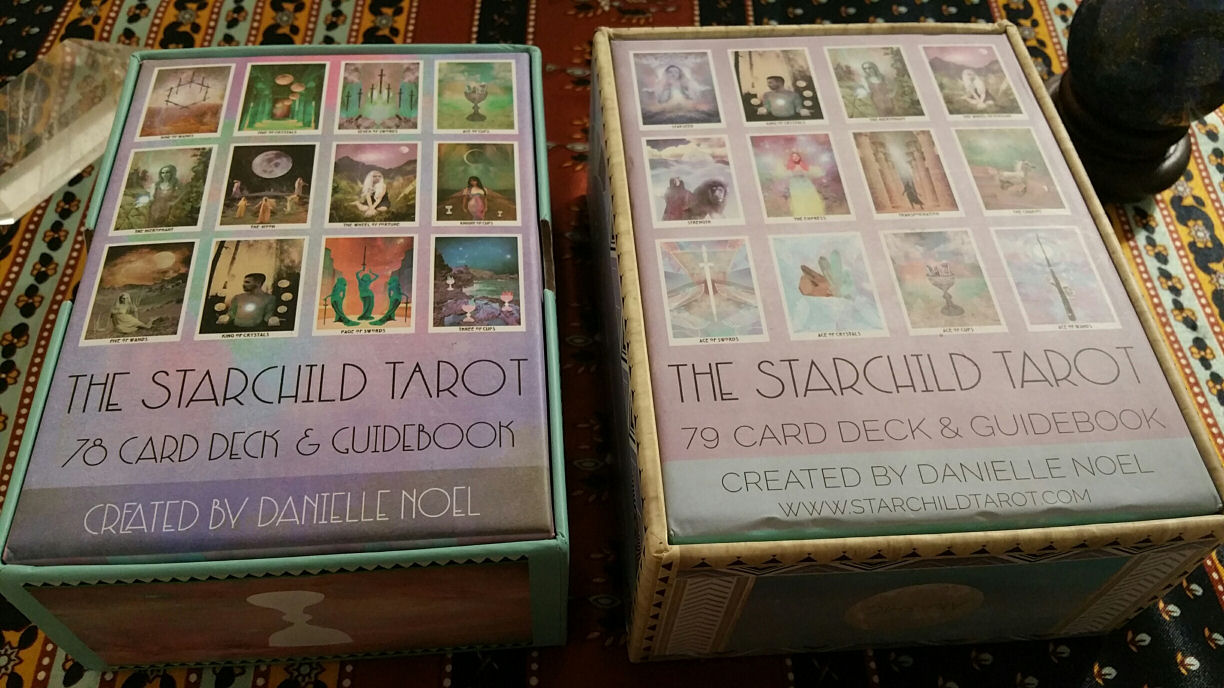 The Starchild Tarot — Akashic Edition | benebell wen