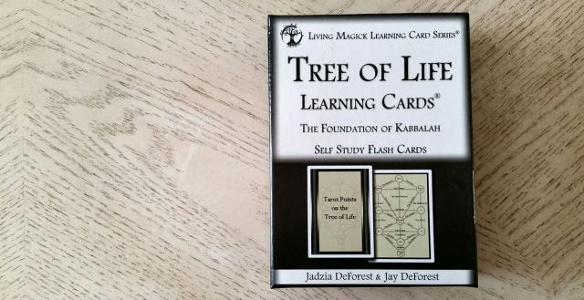 Tree of Life Kabbalah Learning Cards 15 Box Front