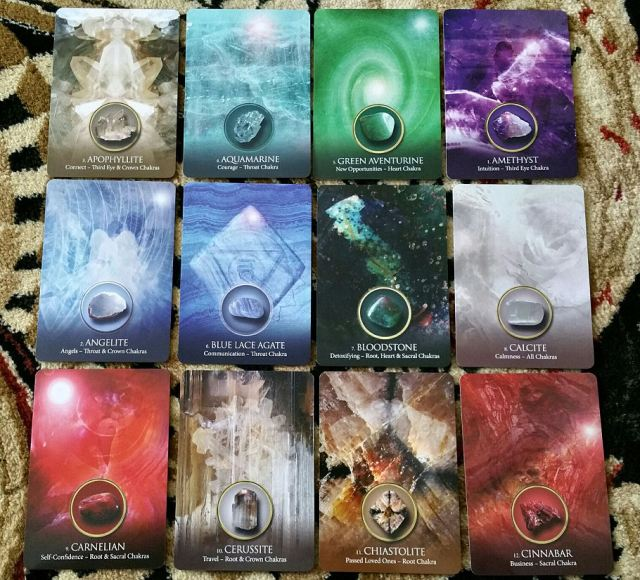 Eternal Crystals Oracle Cards 10 Cards