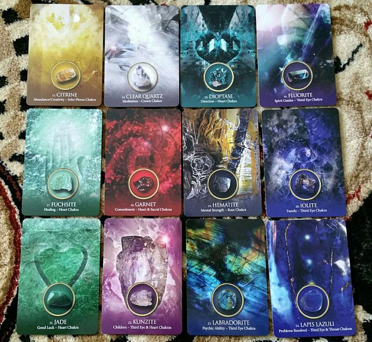 Eternal Crystals Oracle Cards 11 Cards