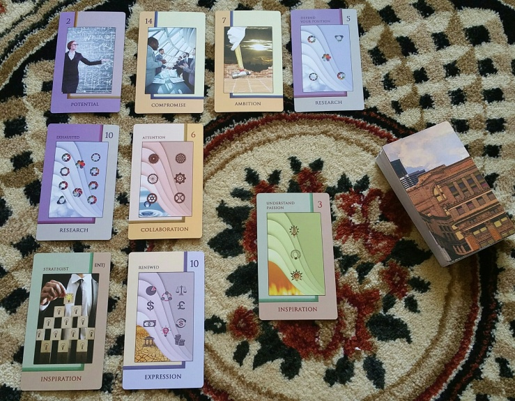 Corporate Tarot 10 Spread Reading