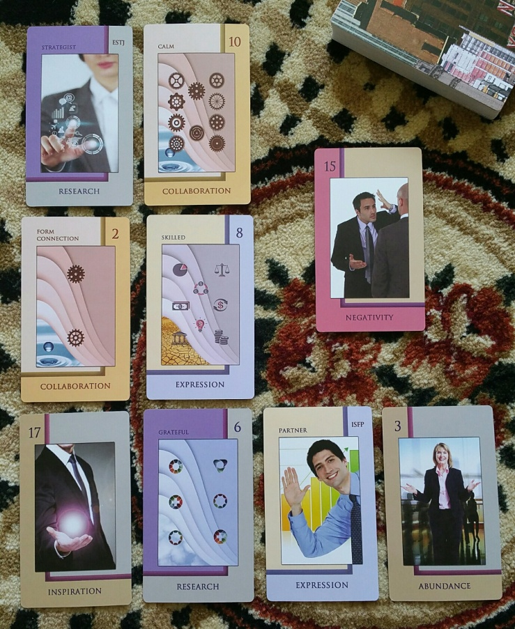 Corporate Tarot 12 Spread Reading
