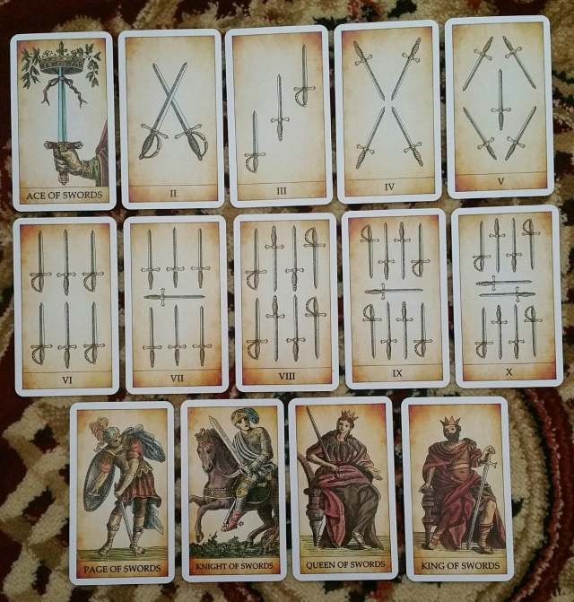 Dark Tarot 05 Swords