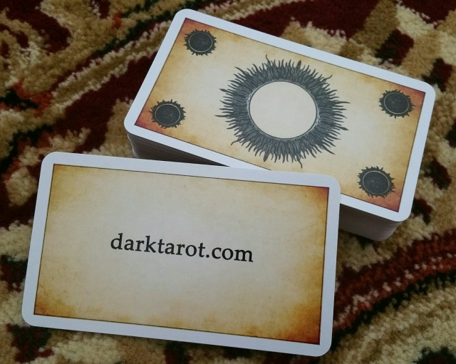 Dark Tarot 07 Card Backs