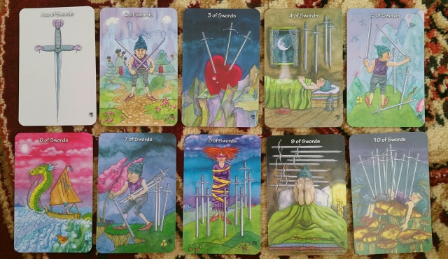 Hezicos Tarot 13 Minors Swords