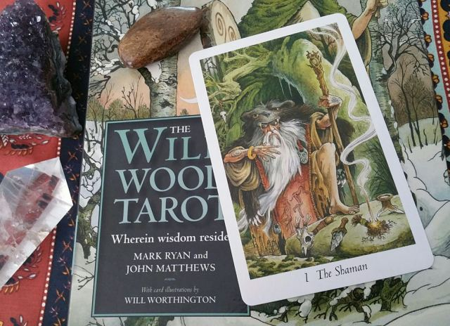 05 Willdwood Tarot Shaman Card