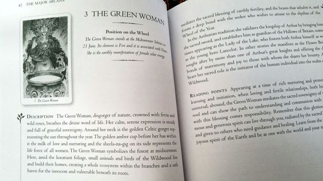 09 Green Woman (Companion Guide Entry)