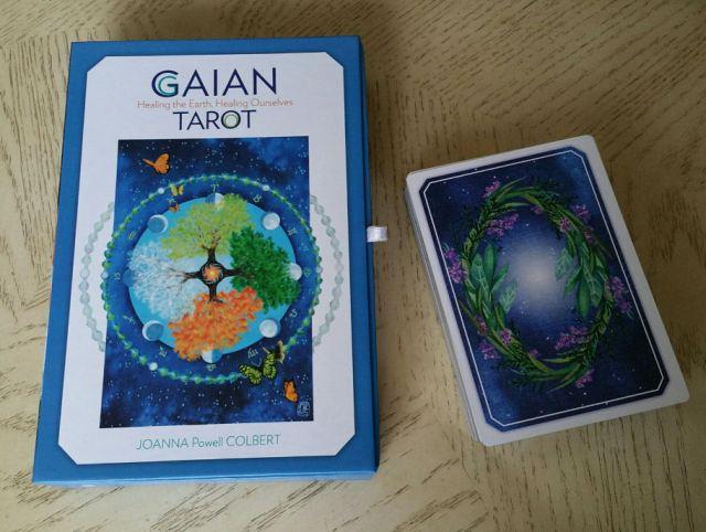 Gaian Tarot 02 Box and Cards