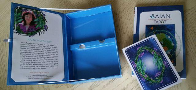 Gaian Tarot 03 Box and Cards