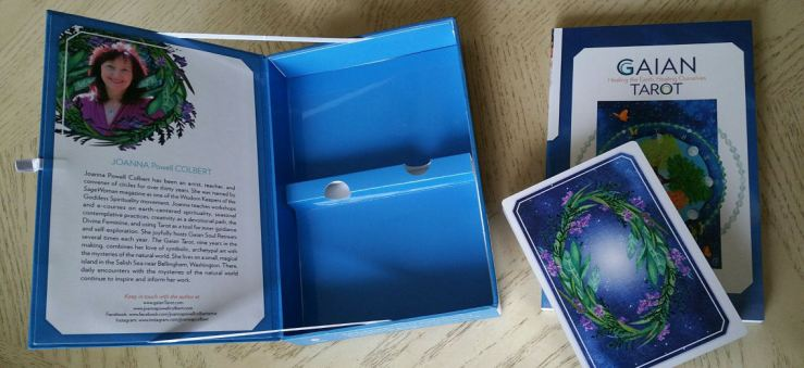 Gaian Tarot 03 Box and Cards