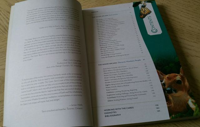 Gaian Tarot 07 Guidebook TOC