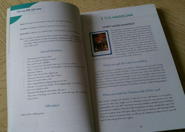 Gaian Tarot 10 Guidebook Magician