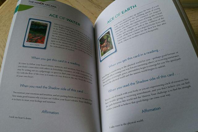 Gaian Tarot 12 Guidebook Minors