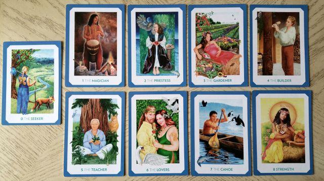 Gaian Tarot 14 Majors 1