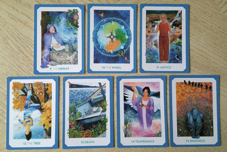 Gaian Tarot 15 Majors 2