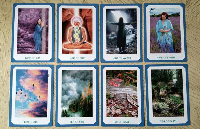 Gaian Tarot 20 Minors Nine Ten