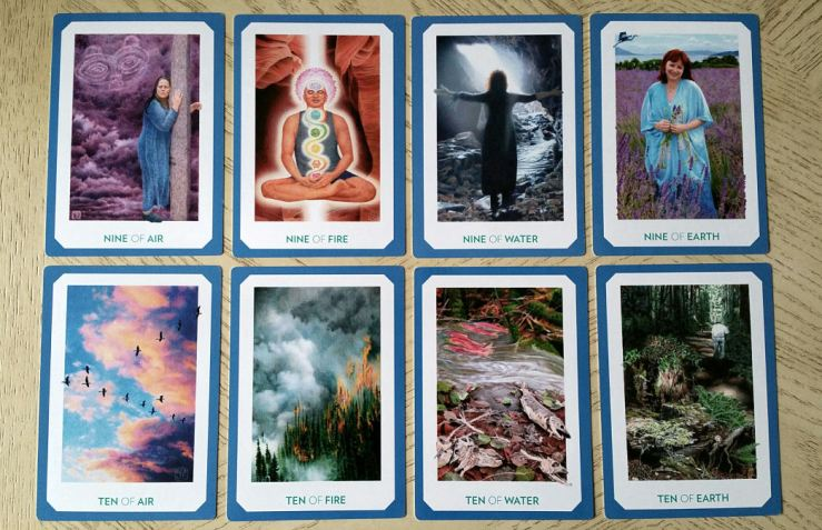Gaian Tarot 20 Minors Nine Ten