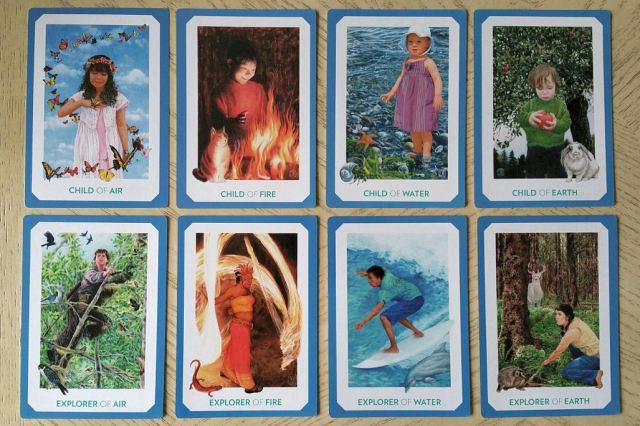 Gaian Tarot 21 Courts 1